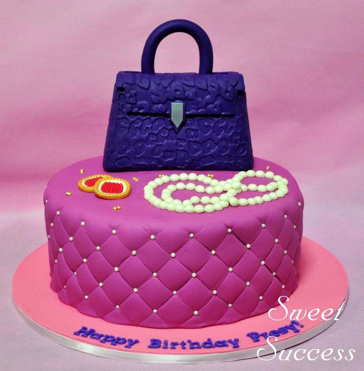 Handbag & Jewelry Cake