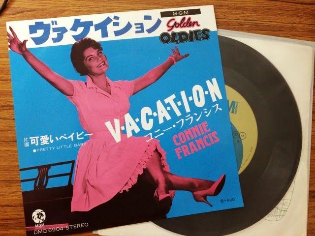 スノー・レコード・ブログ: ヴァケイション~待ち遠しいのは夏休み!?、コニー・フランシス「ヴァケイション」、ゴー・ゴーズ「バケー...