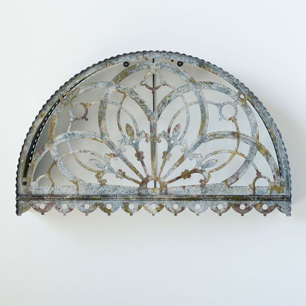 Cutout Arch Metal Wall Decor Arched