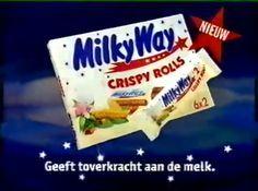 Milky Way Crispy Rolls = LEKKER !!!