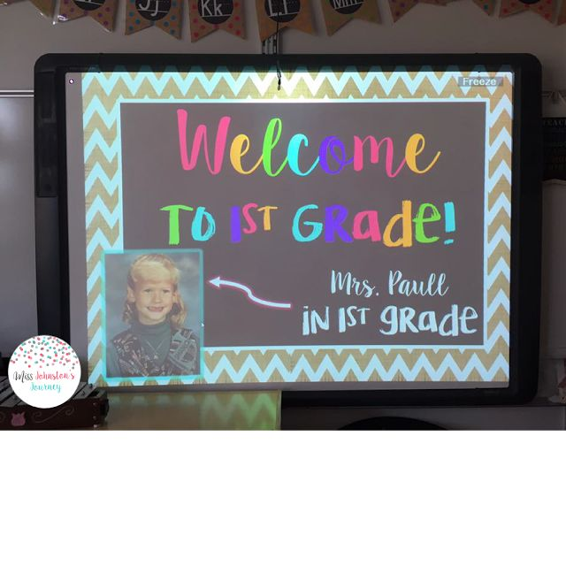First Grade Classroom Reveal 2015-16