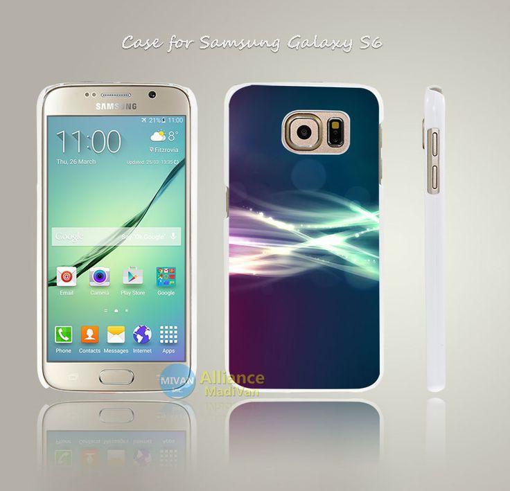 Vc89 ин ян кола узор абстрактный стиль трудно белый чехол крышка коке для Samsung Galaxy S3 S4 мини S5 S6 S6 край