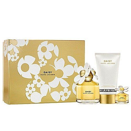 Marc Jacobs Daisy Gift Set 3 Pcs. [3.4 oz. Eau De Parfum Spray + 5.1 Oz. Luminous Body Lotion + 0.10 Oz Edt Splash] Women . $157.99