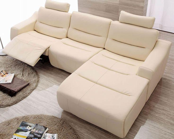 Modern Reclining Sectional Sofa