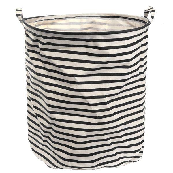Black & White Laundry Baskets