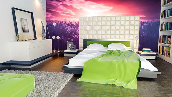 Fototapety za łóżkiem #Fedkolor