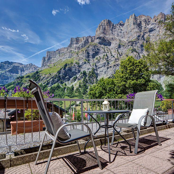 Hôtel Les Sources des Alpes (Valais), Switzerland.