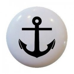 These nautical cabinet knobs are perfect for any room with a nautical theme. Whether you have a beach house, cottage, nautical kitchen, bathroom...