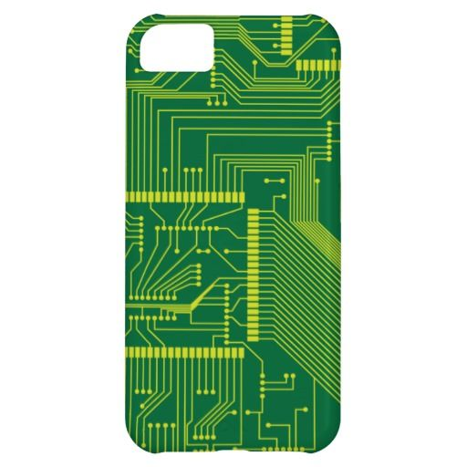 Electronic PCB iPhone 5C Cases