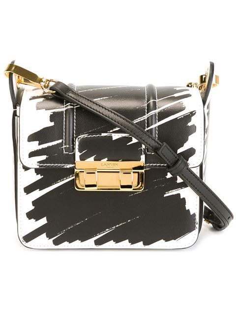 Lanvin 'Jiji' print shoulder bag