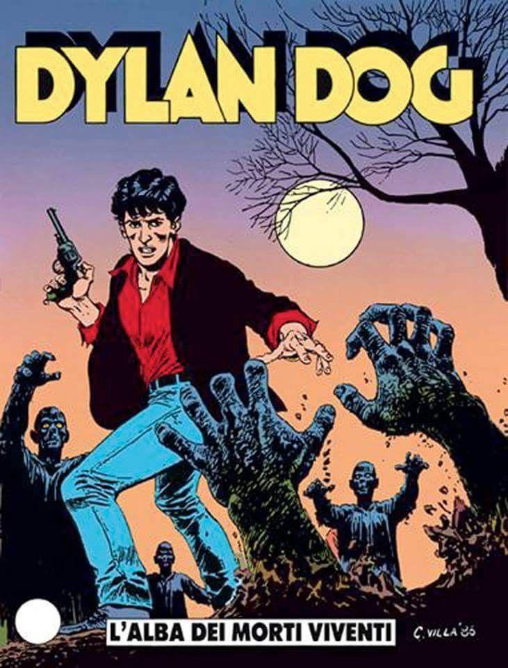 """Alzi la mano chi non lo ha letto almeno una volta. Il 26 settembre 1986, esce il numero 1 di uno dei fumetti più importanti nella storia del comics italiano: Dylan Dog.  Il titolo è """"L'alba dei morti viventi"""", il soggetto e la sceneggiatura sono di Tiziano Sclavi,disegni di Angelo Stano e la copertina di Claudio Villa"""