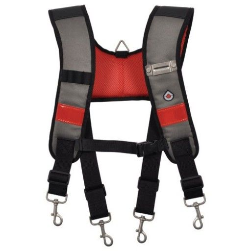 Ck Tools: CK Magma MA2727 Adjustable Padded Braces Suspenders For