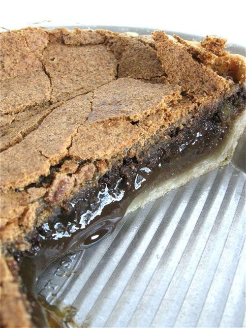 Chocolate Midnight Pie | OMG Chocolate Desserts