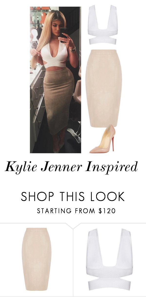 """Kylie Jenner Inspired"" by gcdonuts on Polyvore featuring Oasis and Christian Louboutin"