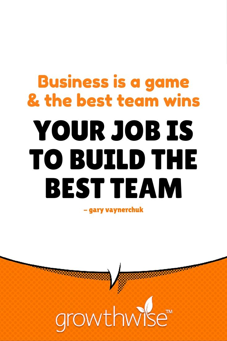 What are you doing to build the best team? Are you planning to #win the game? #motivationmonday #tipstokickarse #workhard #smallbusiness