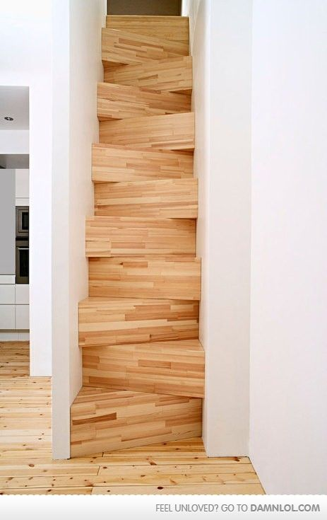 :): Ideas, Dreams Houses, Staircases, Interiors, Cool Stairs, Small Spaces, Architecture, Stairways, Design