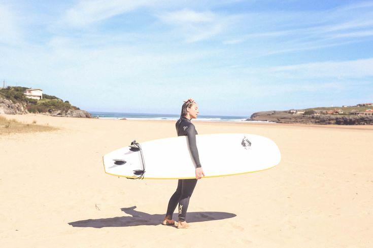 surf ajo escluela la curva cantabria travel blogger sport