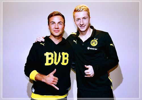 Mario and Marco - BvB