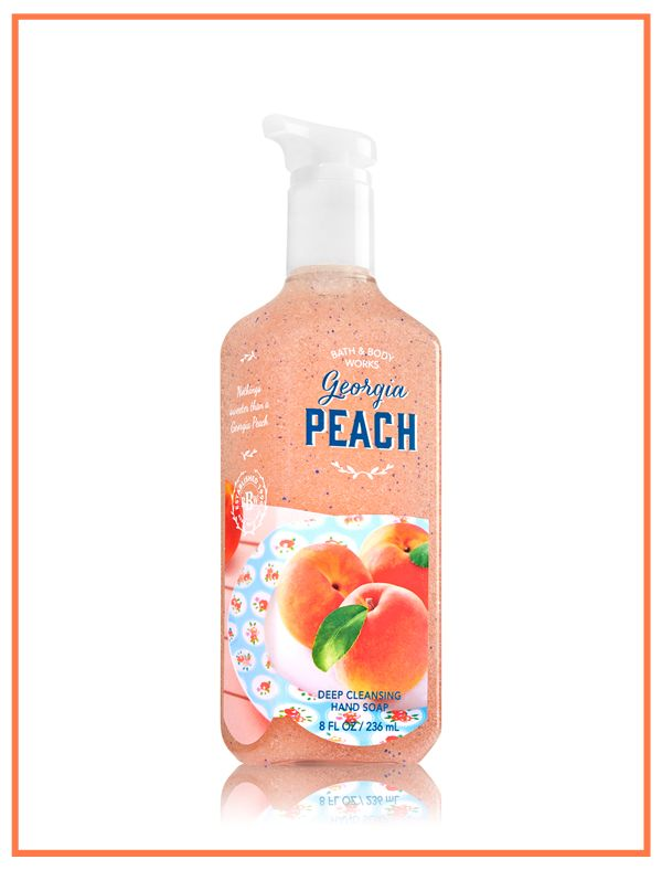 Nothing's sweeter for your hands than a sun-ripened blend of juicy peach, orange blossom & honeysuckle nectar!