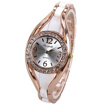 SHARE & Get it FREE | Quartz Watch Analog Indicate Diamonds Round Dial with Steel Watchband for WomenFor Fashion Lovers only:80,000+ Items·FREE SHIPPING Join Dresslily: Get YOUR $50 NOW!