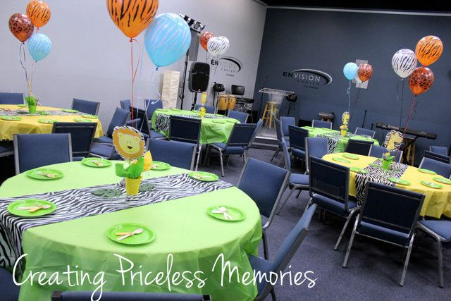"""Photo 1 of 15: Safari-Jungle Theme / Baby Shower/Sip & See """"Syn's Baby Shower"""" 