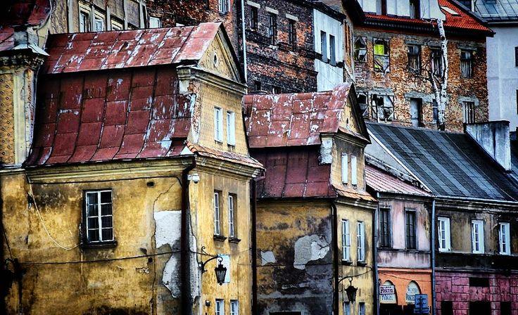 Starówka w Lublinie/ Old Town Lublin #townhouse #kamienice