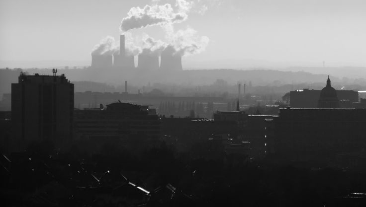 Nottingham Skyline. Jan 2017. City of Nottingham Skyline. Taken from the Mapperley area of the City. On the horizon you can see Ratcliffe-on-Soar Power Station and its trade mark cooling towers. Middle distance and to the right of the photo is Nottingham Council House with its iconic 200 feet high dome that rises above the city. Best viewed full screen.  #Nottingham #Nottinghamshire #Landscape
