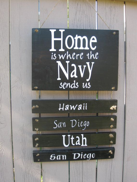 Great idea for all the pcs orders you get sent to, just add a new one each time you move...: Navy Life, Cute Ideas, Military Wife, Military Life, Military Families, Diy, Navy Wife