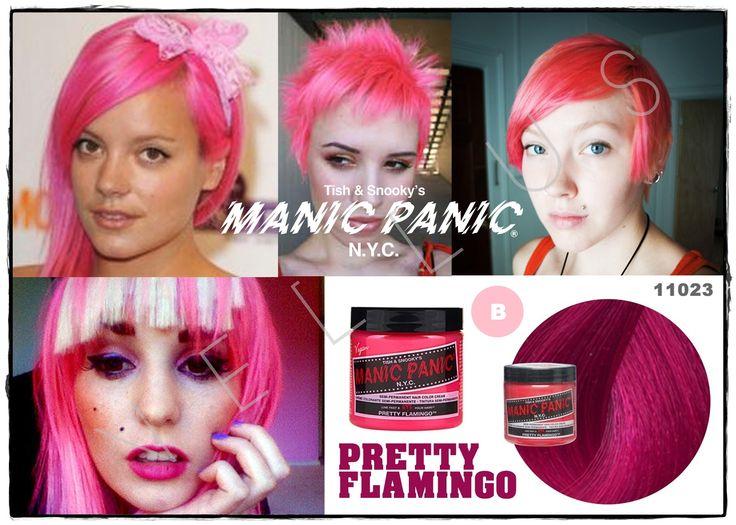 Manic Panic Classic Pretty Flamingo  Vellus Hair Studio 83A Tanjong Pagar Road S(088504) Tel: 62246566
