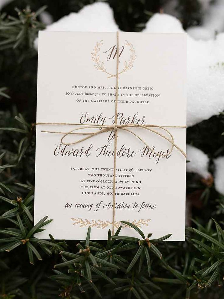 not on the high street winter wedding invitations%0A The Biggest Winter Wedding Myths