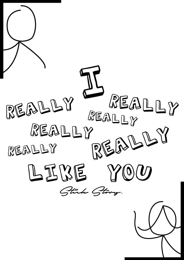 This is one of the T-shirt designs I made when I was joining a clothing business called Stick Story.