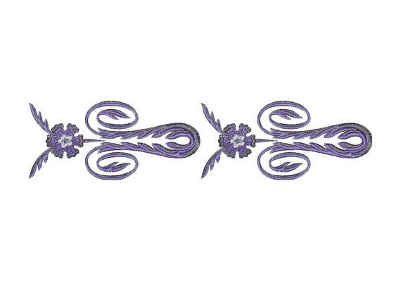 Border, ornament, pattern - Machine Embroidery Design - Instant Download