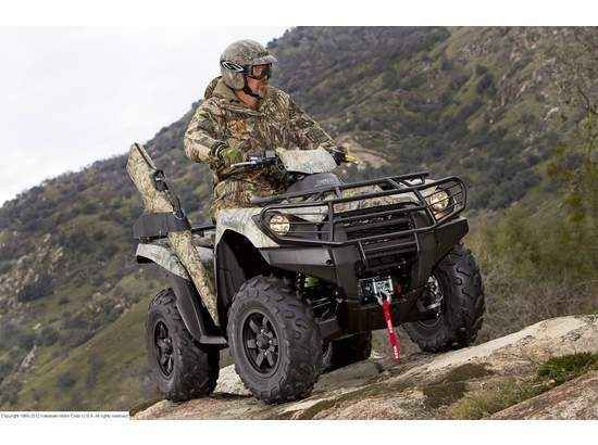 New 2012 Kawasaki BRUTE FORCE 750 4x4i EPS Camo ATVs For Sale in Florida. 2012 KAWASAKI BRUTE FORCE 750 4x4i EPS Camo, 2012 KAWASAKI Brute Force 750 4x4i EPS Camo, Flagship of the Kawasaki ATV line, the muscular Brute Force. 750 4x4i ATV received a comprehensive round of upgrades for the 2012 model year. An Electric Power Steering (EPS) system highlights the changes, but is joined by other significant new features like a more-powerful V-twin engine, new double-wishbone front suspension…