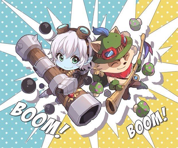 League of Legends Tristana Teemo #leagueoflegends #lol #game #gamer #gamergirl…