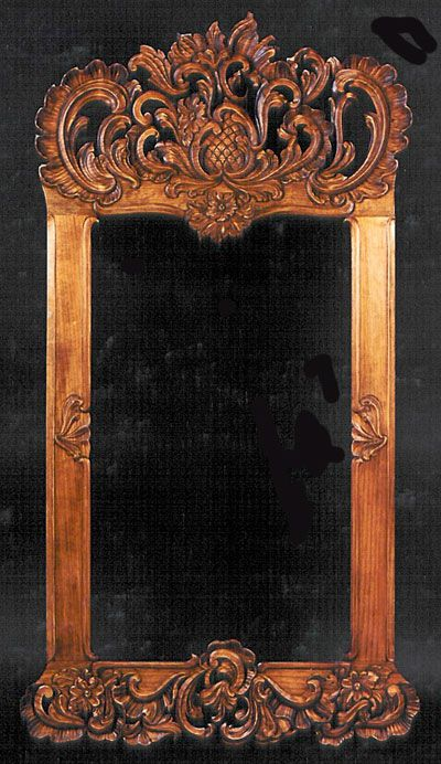 Norsk Wood Works -- I have just the place for this mirror!