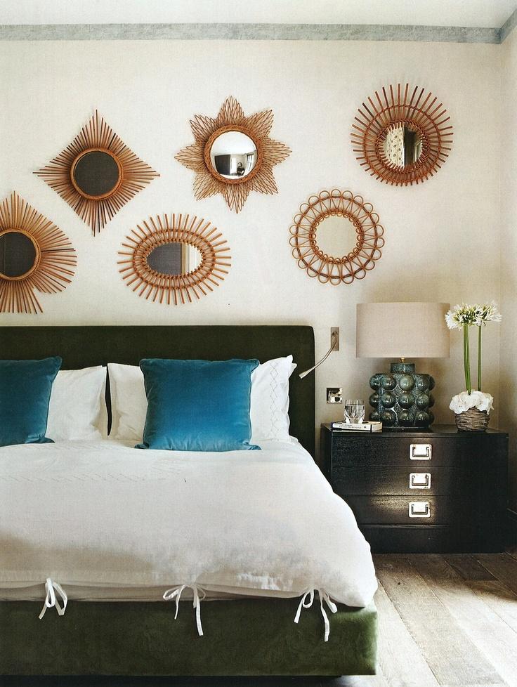 les 34 meilleures images propos de miroir soleil sur. Black Bedroom Furniture Sets. Home Design Ideas