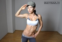 Body Rock TV ---apparently, she has an amazing 12 minute a day workout plan AND apparently, she's my new best friend.