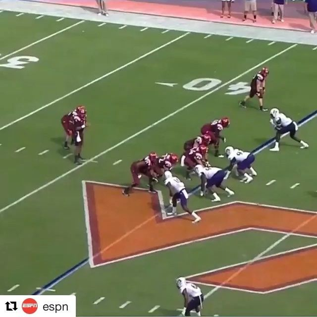 @espn » Did Virginia Tech's Jérod Evans make every ECU player miss?