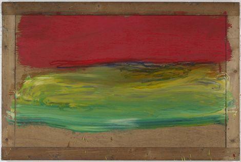 Howard Hodgkin, Red Sky at Night on ArtStack #howard-hodgkin #art