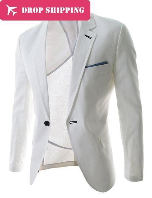 New Arrival Single Button Leisure Blazer Men Male 2016 Spring/Autumn Slim Fit Casual Suit Coffee Navy Blue Blazer Clothing ,XZ08