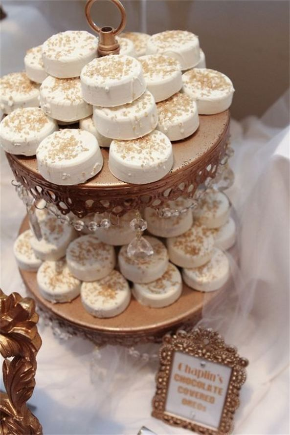 Who knew Oreos could look so classy!  The Candy Brigade.  Photo by Jewel Photo.
