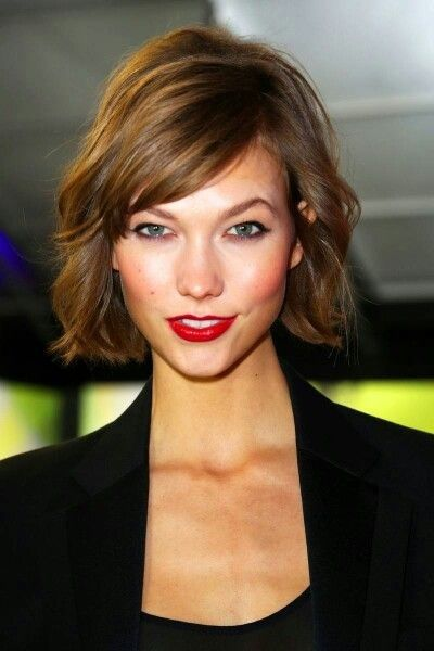 Dear Nicole Nathan, I saw this cut and thought of your lovely face instantly.  Pretty Please!!! Love, T. :) *Karlie Kloss