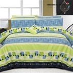 Bed Quilt Cover Set Queen Size Design: Caitly Obsession Night