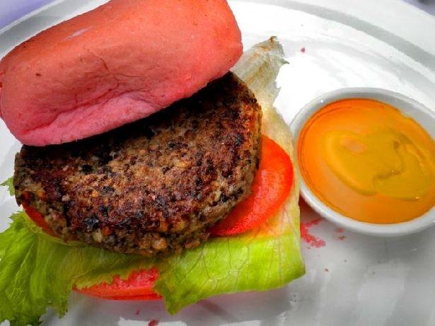 Mushroom Burger - Yayasan Buddha Tzu Chi Indonesia