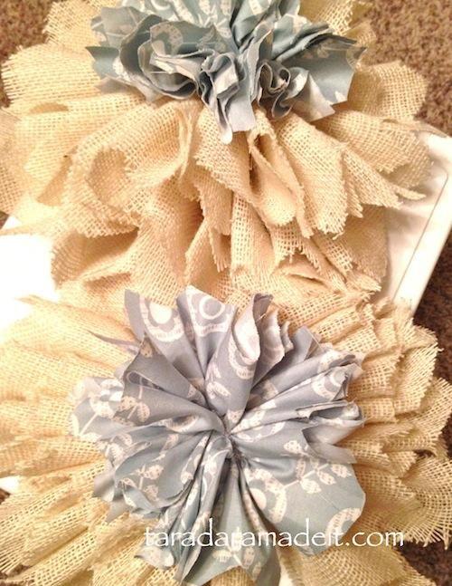 48 best diy burlap crafts images on pinterest burlap for Burlap fabric projects