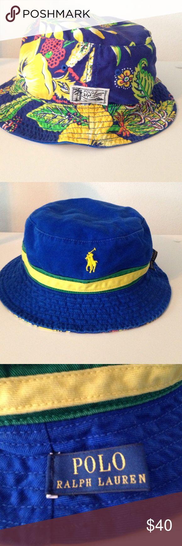 Polo Ralph Lauren Bucket Hat Reversible polo Ralph Lauren bucket hat. Never worn before!! Polo by Ralph Lauren Accessories Hats
