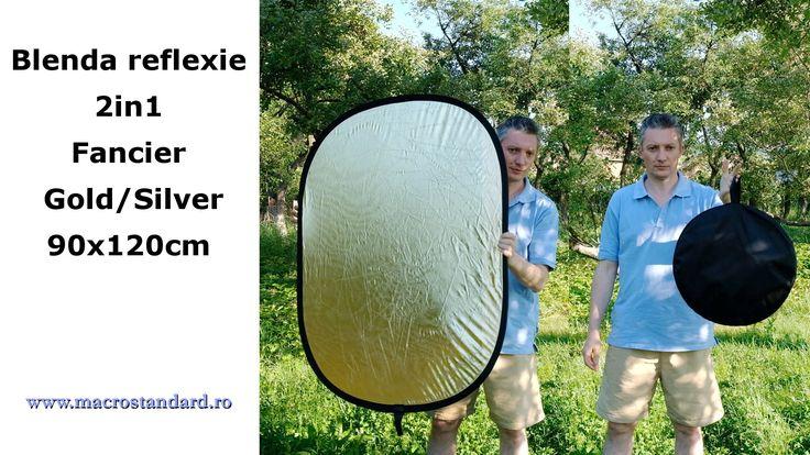 Blenda 2in1 Fancier Gold/Silver, 90x120cm