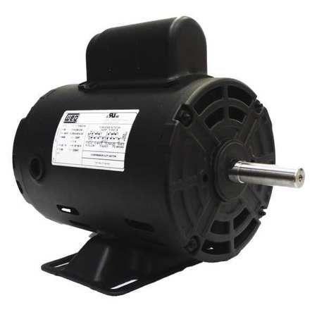 Air Compressor Motor, 1 HP, Frame 56
