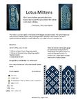 Free pattern on Ravelry: Lotus Mittens pattern by Heather Desserud