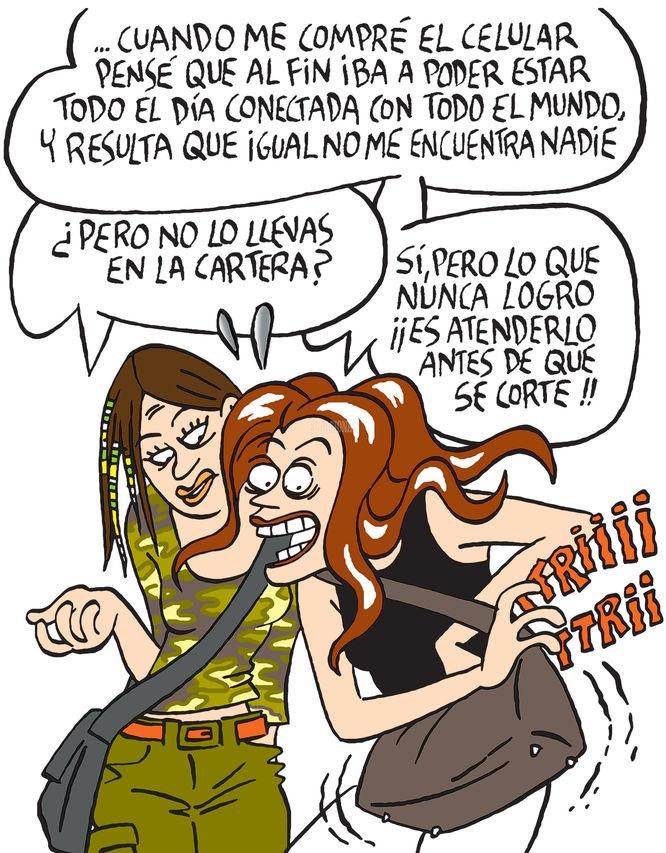 Maitena. (En Todo en Domingo 10/06/2012)